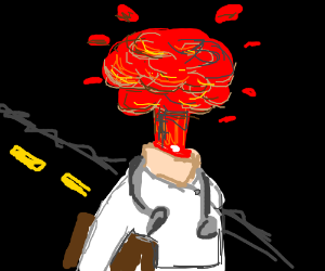 the origin of dr. explosion face