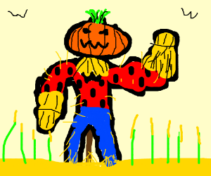 Buff Scarecrow