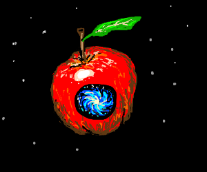 Apple with a Galaxy Inside