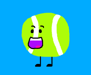 Important Green Tennis Ball