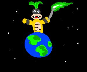 Iggy Koopa will rule the world.