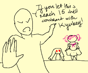 Madoka will contract if Kyubey reach panel 15