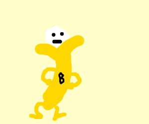 Bananaman saves someone! hooray!