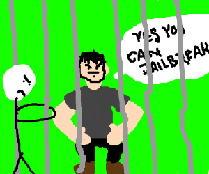 Shia goes to prison.