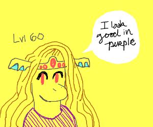 Vellidragon looks good in purple