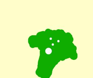 Scared Broccoli