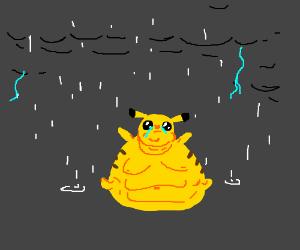 Pikachu crying drawing - photo#32