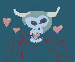 Bullelsebub eating hearts