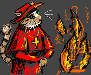 The Spanish Inquisition is Cats