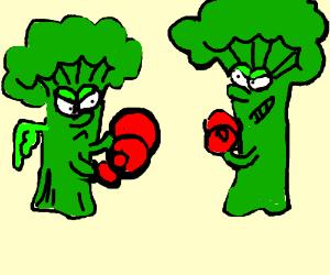 Broccoli VS broccoli