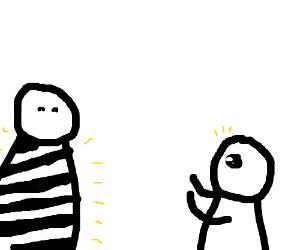 Dem zebra stripes yo.