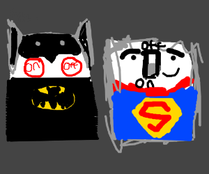 Batman and Superman are electrical switches
