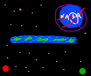 Suddenly earth is flat. R.I.P NASA