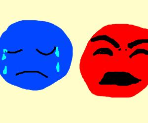 Sadness vs Rage