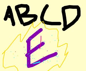 ABC's with magical E