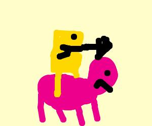 Spongebob the battle for Ponyville