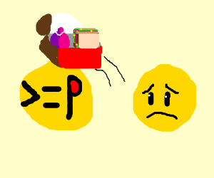 Emoticons Stealing Lunches