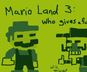 Super Mario Land 3: Who Gives a Fck