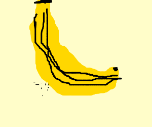Just a simple and innocent banana