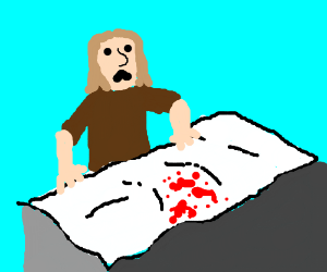 Oh No! Waking up with blood on my pillow