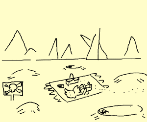 Picnic in a minefield