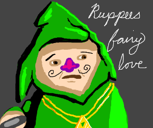 Tingle the hoodlum is tempted by words