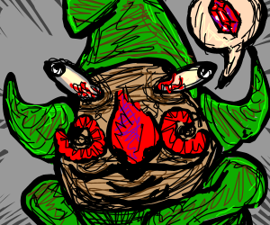 Tingle asks for rupies.
