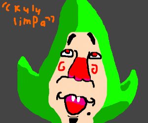 disturbing Mr. Tingle from Zelda