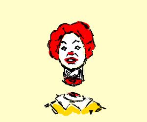 Decapitated Ronald McDonald