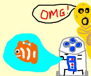 Finding Nemo/Star Wars crossover
