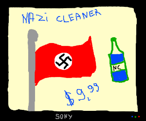 Commercial how to clean your Nazi flag fresh