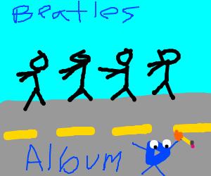 Drawception drew Abbey Road