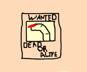 Wanted finger