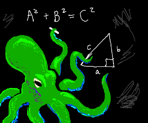 Green Octopus is a teacher