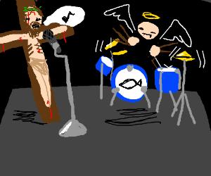 Jesus starts a band
