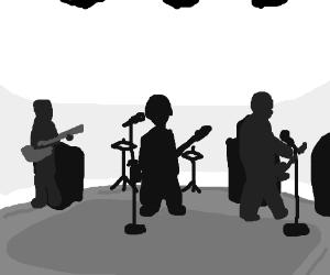 The Beatles on Ed Sullivan.