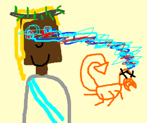 jesus vs scorpion, fatality