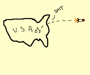 America accidently launches an atomic bomb