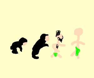 the evolution of ape
