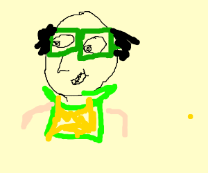 Jay Sherman with glasses - Drawception