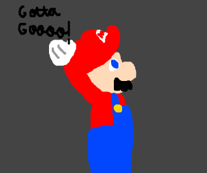 Mario has to go