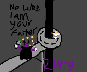 Zurg was Luke's Father