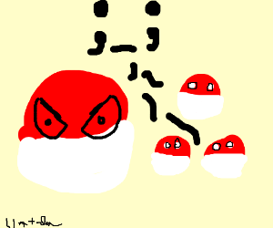 Voltorb used Clones into Polandball