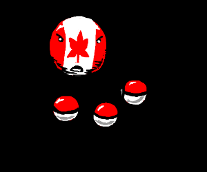Canadaball angry at tiny pokeballs