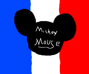 Mickey Mouse rules the France now