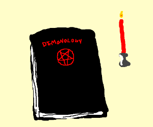The story is about a persistent demonologist
