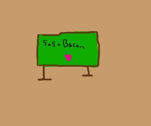 5x5=Bacon <3