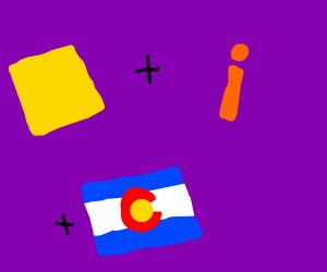 Square + i + colorado