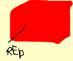 big red box labeled 'red'