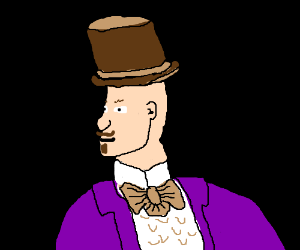 Some OC in Willy Wonka's clothing